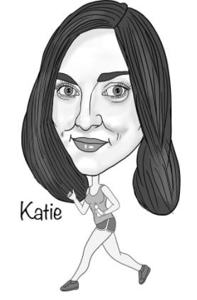 katie caricature